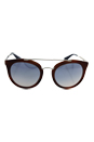 Prada SPR 23S USE-5R0 - Light Brown/Blue by Prada for Women - 52-22-140 mm Sunglasses