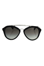 Prada SPR 12Q USI-0A7 - Striped Grey/Grey Gradient by Prada for Women - 54-18-135 mm Sunglasses