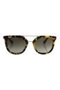Prada SPR 13Q 7SO-4M1 - Medium Havana/Green Gradient by Prada for Women - 54-20-140 mm Sunglasses
