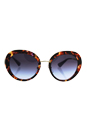 Prada SPR 16Q PDN-2F0 - Spotted Havana Violet/Violet Gradient by Prada for Women - 55-21-135 mm Sunglasses