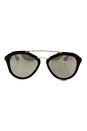 Prada SPR 12Q 1AB-1C0 - Gold Black/Light Brown by Prada for Women - 54-18-135 mm Sunglasses