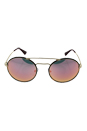 Prada SPR 51S 2AU-5L2 - Gold Dark Havana/Grey Pink by Prada for Women - 54-22-135 mm Sunglasses