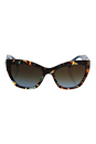 Prada SPR 02Q NAG-0A4 - Havana Spotted Blue/Brown Gradient by Prada for Women - 56-17-140 mm Sunglasses