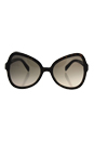 Prada SPR 05S 2AU-3D0 - Havana/Light Brown Gradient Light Grey by Prada for Women - 56-19-135 mm Sunglasses