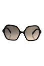 Prada SPR 06S 2AU-3D0 - Havana/Light Brown Gradient Light Grey by Prada for Women - 56-18-135 mm Sunglasses