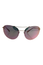 Prada SPS 51R ZVN-5L2 - Pale Gold/Grey Rose Gold by Prada for Women - 59-18-135 mm Sunglasses