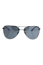 Prada SPS 53R 7AX-5L0 - Black/Light Grey Black by Prada for Women - 57-14-135 mm Sunglasses