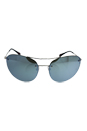 Prada SPS 51R 1BC-5K2 - Silver/Green Silver by Prada for Women - 59-18-135 mm Sunglasses