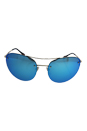 Prada SPS 51R ZVN-5M2 - Pale Gold/Light Green Blue by Prada for Women - 59-18-135 mm Sunglasses