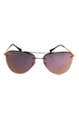 Prada SPS 53R ZVN-5L2 - Pale Gold/Grey Rose Gold by Prada for Women - 57-14-135 mm Sunglasses
