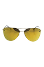 Prada SPS 53R ZVN-5N0 - Pale Gold/Brown Orange 24k Iridium by Prada for Women - 57-14-135 mm Sunglasses