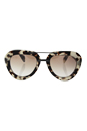 Prada SPR 28R UAO-4O0 - Spotted Opal/Brown Gradient Silver by Prada for Women - 52-22-135 mm Sunglasses