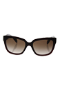 Prada SPR 07P UAN-0A6 - Burgundy/Brown Gradient by Prada for Women - 56-18-140 mm Sunglasses