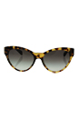 Prada SPR 08S 7S0-0A7 - Medium Havana/Grey Gradient by Prada for Women - 55-17-140 mm Sunglasses