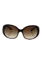 Prada SPR 27L 2AU-6S1 - Havana/Brown Gradient by Prada for Women - 57-17-135 mm Sunglasses