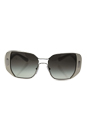 Prada SPR 59S USB-0A7 - Silver-Ivory/Grey Gradient by Prada for Women - 54-16-135 mm Sunglasses