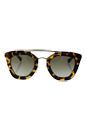 Prada SPR 09Q 7S0-4M1 - Medium Havana/Green Gradient by Prada for Women - 49-26-140 mm Sunglasses