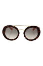 Prada SPR 13S UE0-4KC - Spotted Brown Pink/Pink Gradient by Prada for Women - 54-25-135 mm Sunglasses