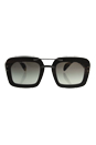 Prada SPR 30R UBT-0A7 - Ebony Malabar/Grey Gradient by Prada for Women - 51-25-135 mm Sunglasses