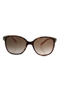 Prada SPR 01O UE0-0A6 - Spotted Brown Pink/Brown Gradient by Prada for Women - 55-17-140 mm Sunglasses