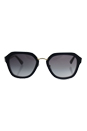 Prada SPR 25R UEE-3E2 - Opal Grey Azure/Grey Gradient by Prada for Women - 55-21-140 mm Sunglasses