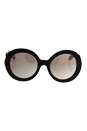 Prada SPR 27N UAO-4O0 - Brown Tortoise/Brown Silver by Prada for Women - 55-22-135 mm Sunglasses