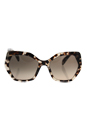Prada SPR 16R UAO-3D0 - Spotted Opal Brown/Light Brown Gradient by Prada for Women - 56-19-135 mm Sunglasses