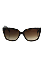 Prada SPR 07P 2AU-6S1 - Brown/Brown by Prada for Women - 56-18-140 mm Sunglasses
