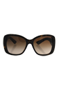 Prada SPR 32P 2AU-6S1 - Brown/Brown by Prada for Women - 57-17-140 mm Sunglasses