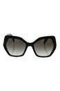 Prada SPR 16R 1AB-0A7 - Black/Grey Gradient by Prada for Women - 56-19-135 mm Sunglasses
