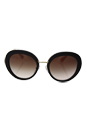 Prada SPR 16Q DHO-0A6 - Brown /Brown Gradient by Prada for Women - 55-21-135 mm Sunglasses