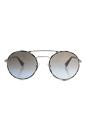 Prada SPR 51S UAO-4S2 - Silver/Light Brown Gold by Prada for Women - 54-22-135 mm Sunglasses