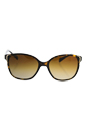 Prada SPR 01O 2AU-6E1 - Tortoise/Brown Polarized by Prada for Women - 55-17-140 mm Sunglasses