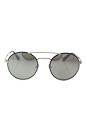 Prada SPR 51S 1AB-2B0 - Silver Black/Light Grey Silver by Prada for Women - 54-22-135 mm Sunglasses