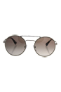 Prada SPR 51S UFH-4O0 - Silver/Brown Gradient by Prada for Women - 54-22-135 mm Sunglasses