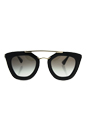 Prada SPR 09Q 1AB-0A7 - Black/Grey by Prada for Women - 49-26-140 mm Sunglasses