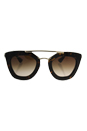 Prada SPR 09Q 2AU-6S1 - Brown/Brown by Prada for Women - 49-26-140 mm Sunglasses