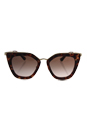 Prada SPR 53S UE0-0A6 - Brown Pink/Brown Gradient by Prada for Women - 52-21-140 mm Sunglasses