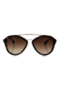 Prada SPR 12Q 2AU-6S1 - Brown/Brown by Prada for Women - 54-18-135 mm Sunglasses