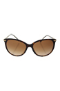Burberry BE 4186 3002/13 - Dark Havana/Brown Gradient by Burberry for Women - 58-17-145 mm Sunglasses
