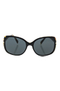Prada SPR 08O NAI-1A1 - Top Black Medium Havana/Grey by Prada for Women - 57-17-130 mm Sunglasses