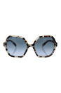 Prada SPR 06S UAO-4R2 - Spotted Opal Brown/Blue Gradient by Prada for Women - 56-18-135 mm Sunglasses