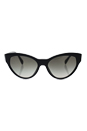 Prada SPR 08S 1AB-0A7 - Black/ Grey Gradient by Prada for Women - 55-17-140 mm Sunglasses