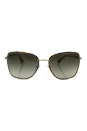 Prada SPR 52S 7S0-4K1 - Pale Gold/Green Gradient Grey by Prada for Women - 58-19-140 mm Sunglasses