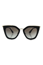 Prada SPR 53S 1AB-0A7 - Black/Grey Grandient by Prada for Women - 52-21-140 mm Sunglasses