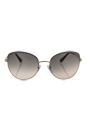 Prada SPR 54S UF5-3H2 - Pink Pale Gold/Beige Gradient by Prada for Women - 59-20-140 mm Sunglasses