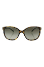 Prada SPR 01O UEZ-4K1 - Spotted Brown Green/Green Gradient by Prada for Women - 55-17-140 mm Sunglasses