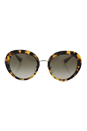 Prada SPR 16Q 7S0-4M1 - Medium Havana/Green gradient by Prada for Women - 55-21-135 mm Sunglasses