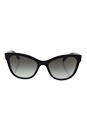 Prada SPR 21S 1AB-0A7 - Black/Grey Gradient by Prada for Women - 56-19-140 mm Sunglasses