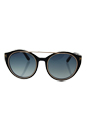 Tom Ford FT0383 01W Joan - Shiny Black Gold/Blue Gradient by Tom Ford for Women - 52-19-140 mm Sunglasses